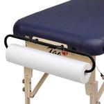 papierrol houder voor massagetafel