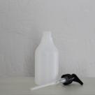 HDPE-fles-transparant-250-ml-met-pomp