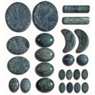 jade stones 24 stuks