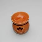 Aromabrander-7x7cm-oker-oranje