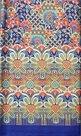 Thaise doek blauw