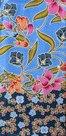 Thaise-doek-bloemen-blauw-blauw