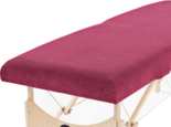 hoeslaken massagetafel bordeaux