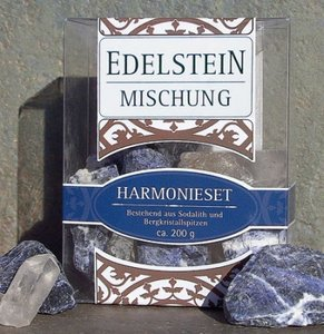 Edelsteenwater Sodaliet/Bergkristal
