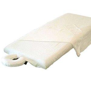 flanellen lakenset voor massagetafel