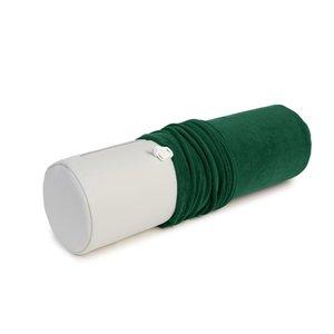 badstof hoes voor knierol groen