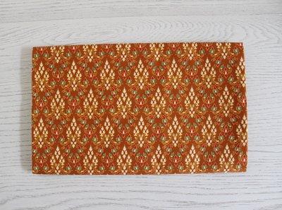 Thaise doek 200 cm - mosterdgeel