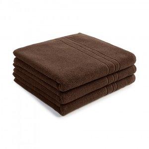 handdoek 50x90cm bruin