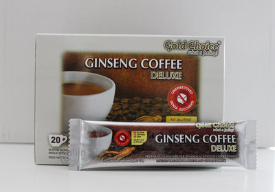 ginseng koffie zonder suiker