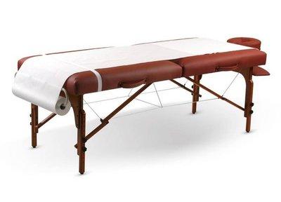 papierrollen massagetafel