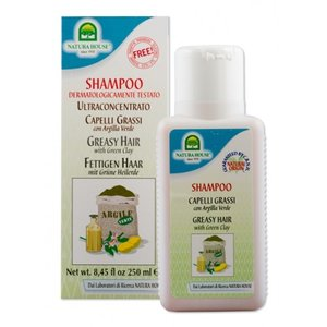 shampoo met groene klei