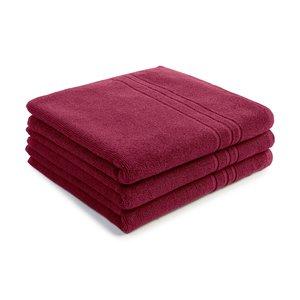 handdoek bordeaux